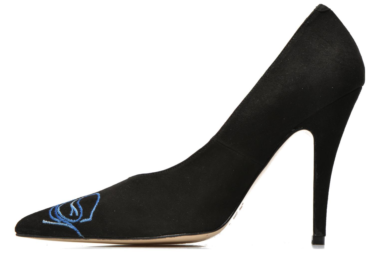 Zapatos de tacón Terry de Havilland DRAGON STILETTO Negro vista de frente