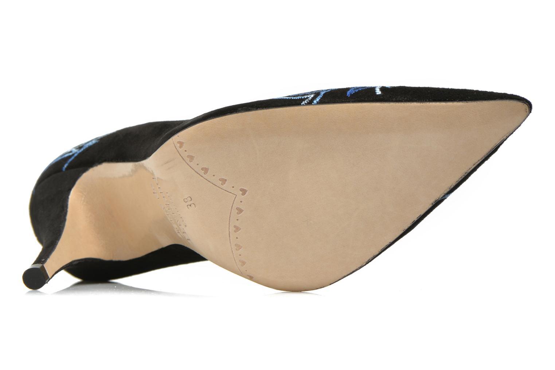 Zapatos de tacón Terry de Havilland DRAGON STILETTO Negro vista de arriba
