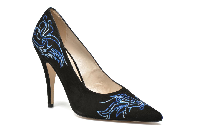 Zapatos de tacón Terry de Havilland DRAGON STILETTO Negro vista de detalle / par