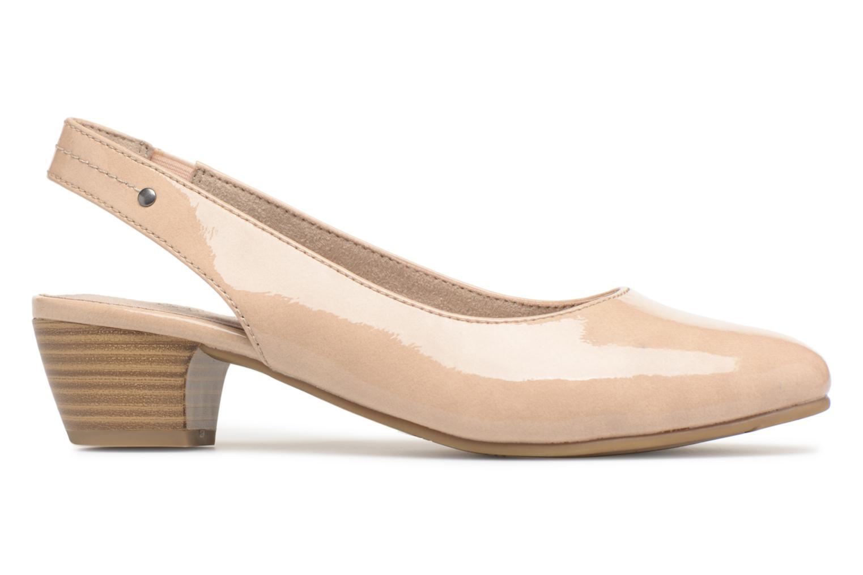 Pumps Jana shoes Orina Beige achterkant