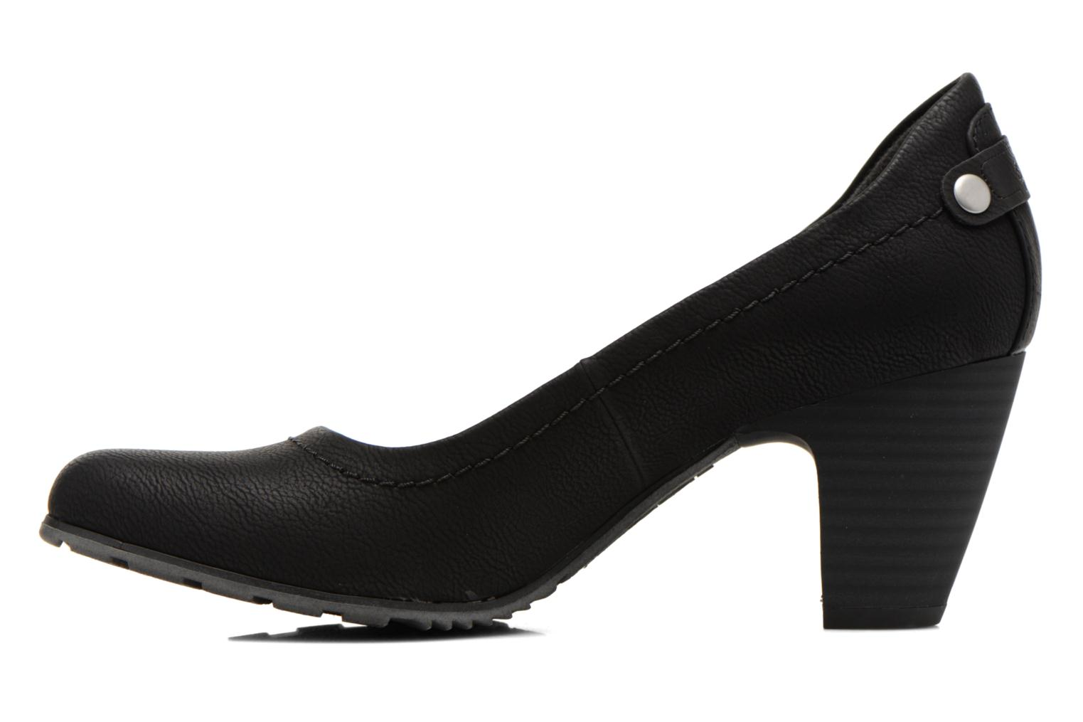 High heels S.Oliver Nyelle Black front view