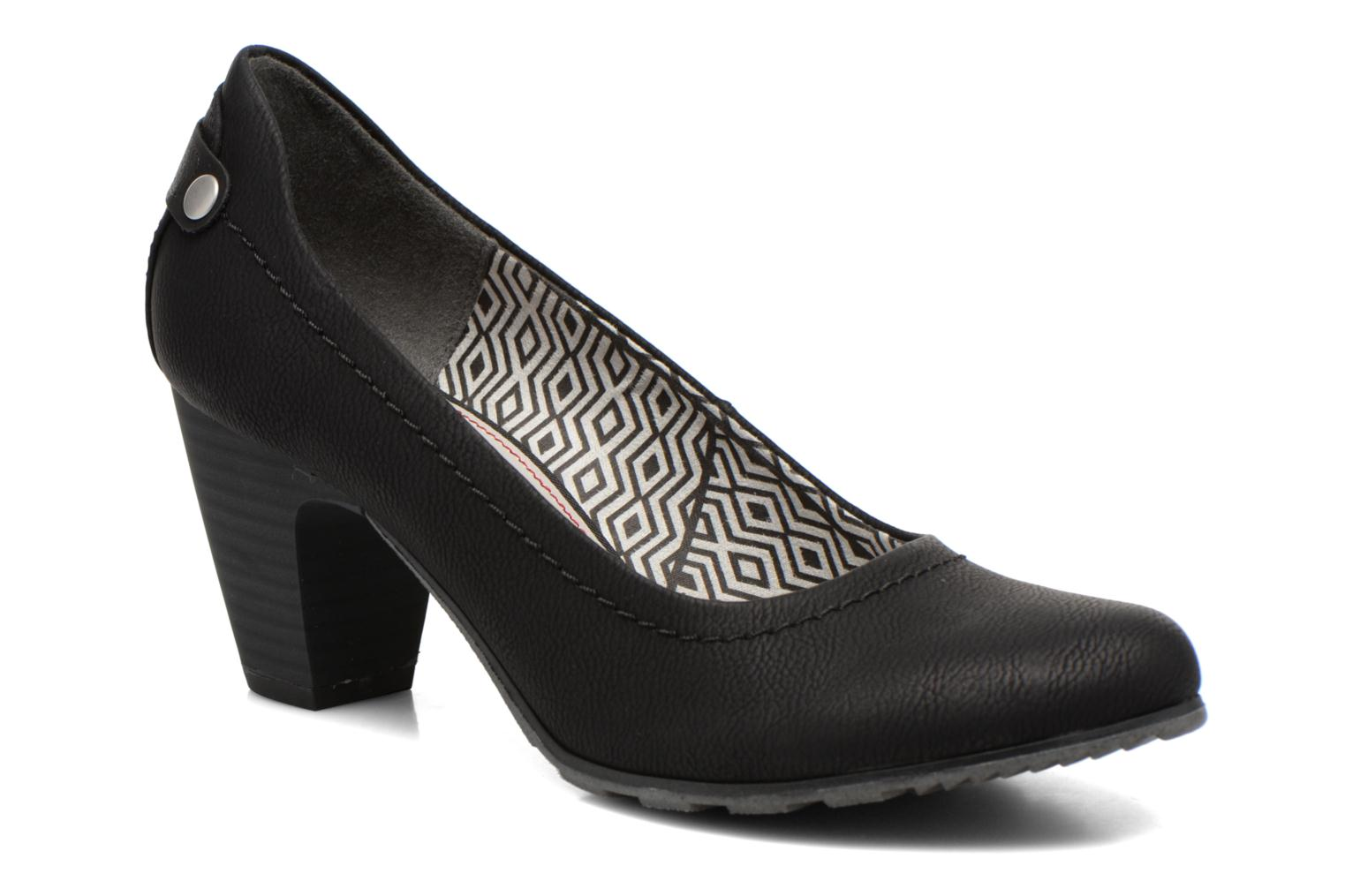 High heels S.Oliver Nyelle Black detailed view/ Pair view