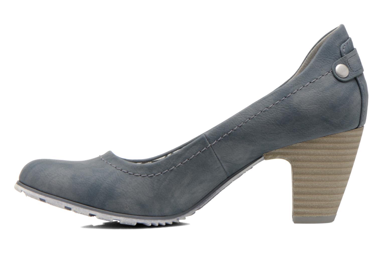 Zapatos de tacón S.Oliver Nyelle Azul vista de frente
