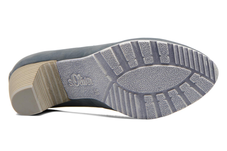 Zapatos de tacón S.Oliver Nyelle Azul vista de arriba