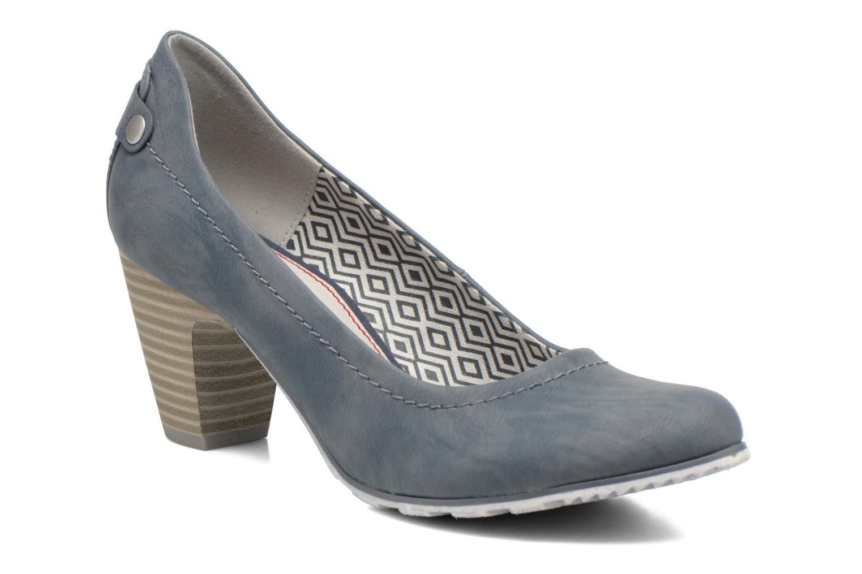 Zapatos de tacón S.Oliver Nyelle Azul vista de detalle / par