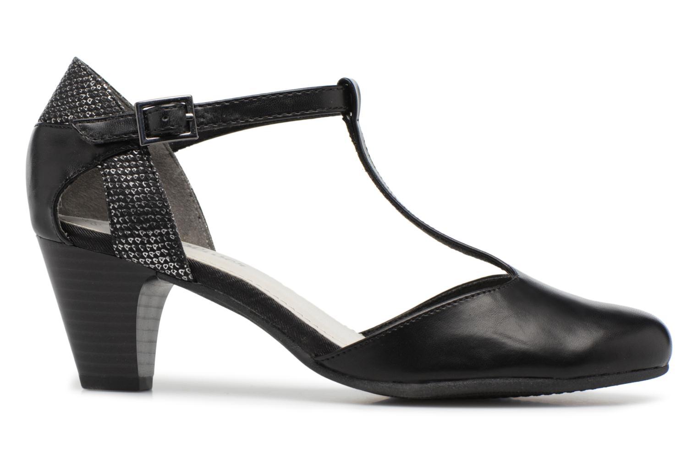 High heels S.Oliver Danoa Black back view