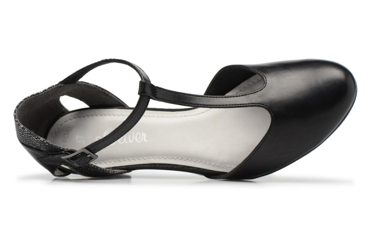 High heels S.Oliver Danoa Black view from the left