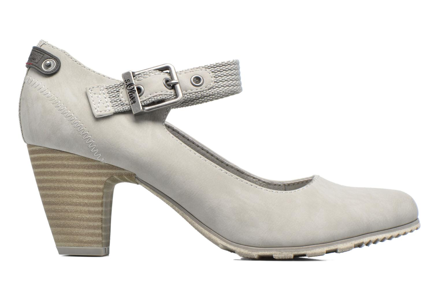 High heels S.Oliver Leby Grey back view