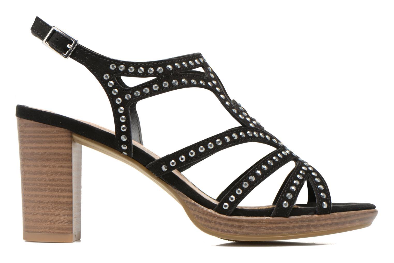 Sandales et nu-pieds S.Oliver Jiloa Noir vue derrière