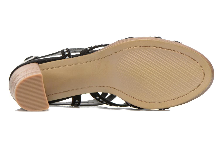 Sandales et nu-pieds S.Oliver Jiloa Noir vue haut