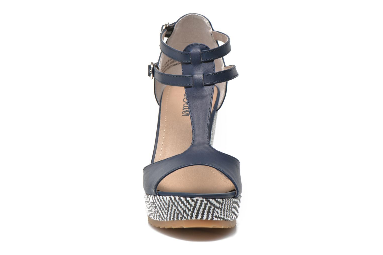 Sandales et nu-pieds S.Oliver Bomana Bleu vue portées chaussures