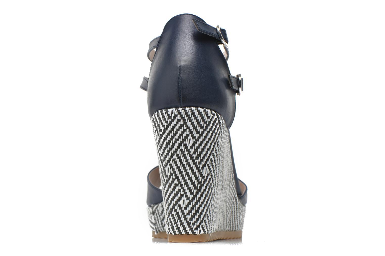 Sandales et nu-pieds S.Oliver Bomana Bleu vue droite