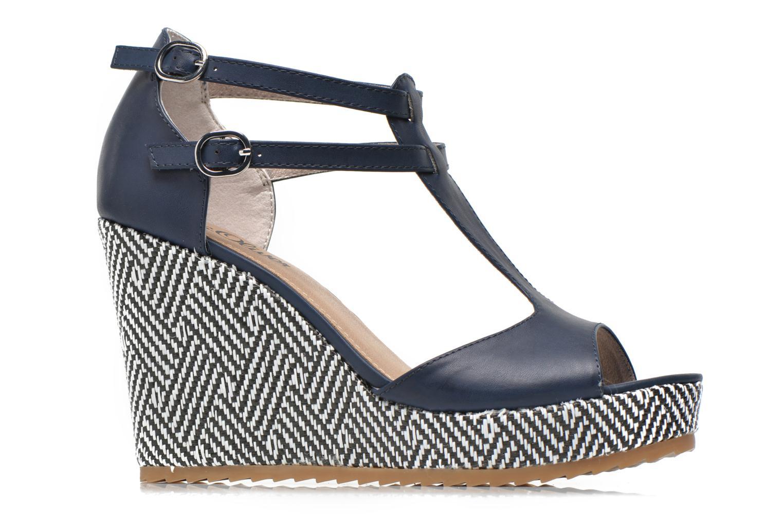 Sandales et nu-pieds S.Oliver Bomana Bleu vue derrière