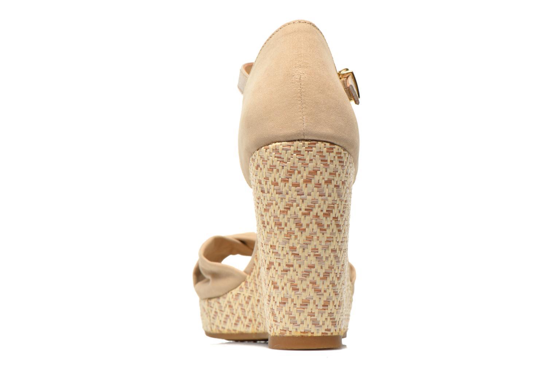 Sandales et nu-pieds Tommy Hilfiger Elena 3D Beige vue droite
