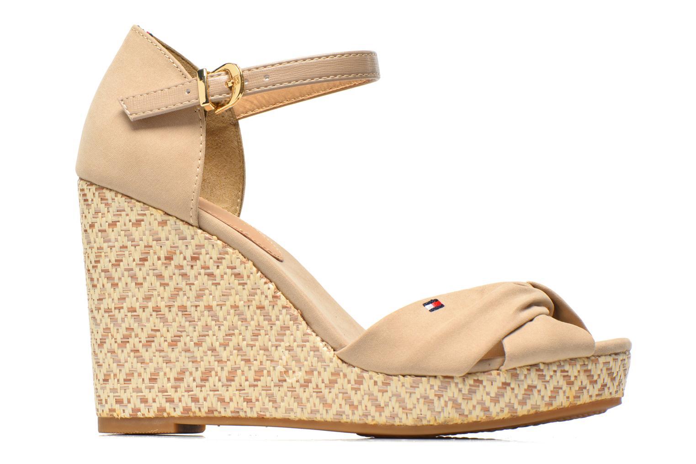 Sandales et nu-pieds Tommy Hilfiger Elena 3D Beige vue derrière