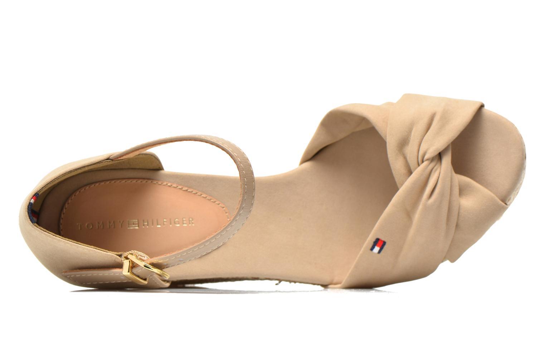 Sandales et nu-pieds Tommy Hilfiger Elena 3D Beige vue gauche