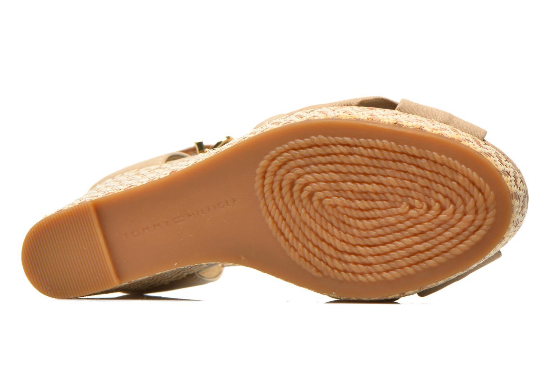 Sandales et nu-pieds Tommy Hilfiger Elena 3D Beige vue haut