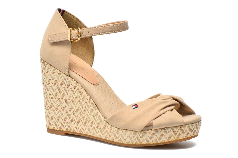 Sandales et nu-pieds Tommy Hilfiger Elena 3D Beige vue détail/paire