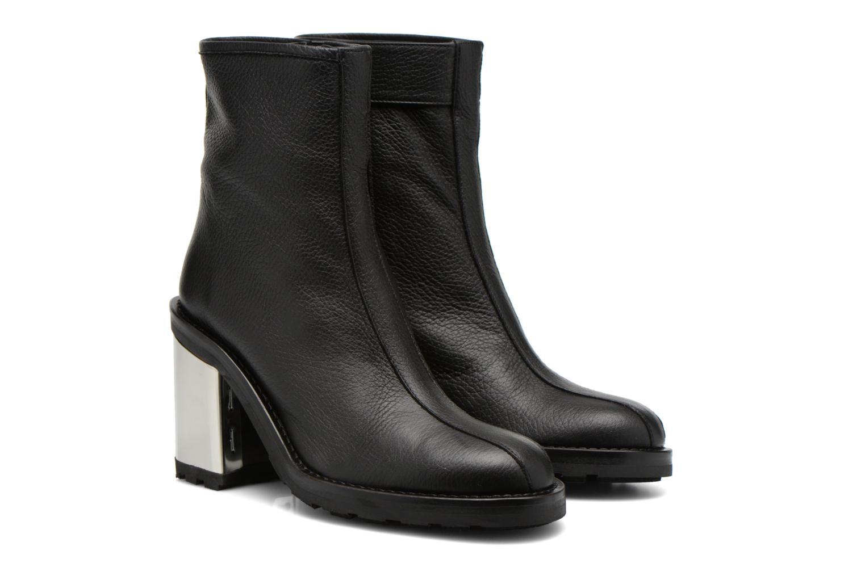 Bottines et boots Opening Ceremony ISA METALLIC HEEL BOOT Noir vue 3/4