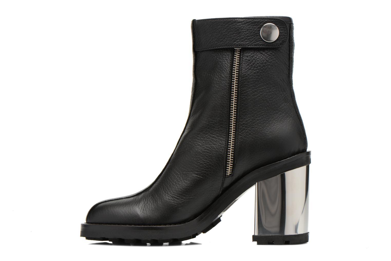 Bottines et boots Opening Ceremony ISA METALLIC HEEL BOOT Noir vue face