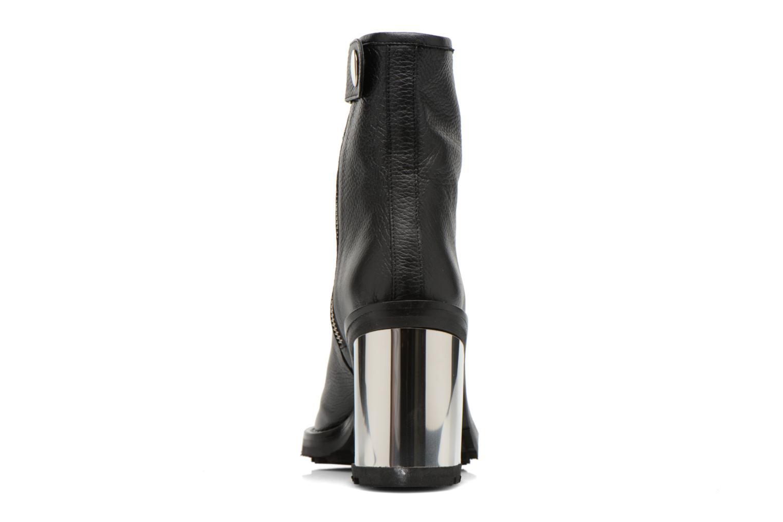 Bottines et boots Opening Ceremony ISA METALLIC HEEL BOOT Noir vue droite