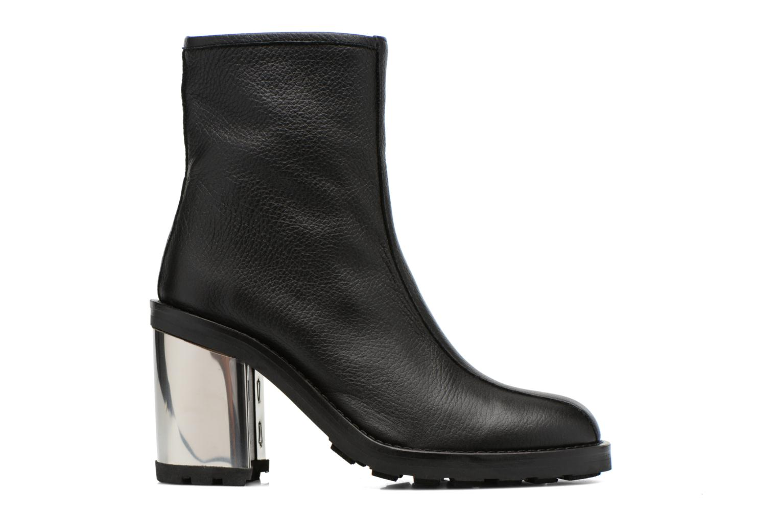 METALLIC Opening HEEL Ceremony BOOT ISA Black qHHEU0R