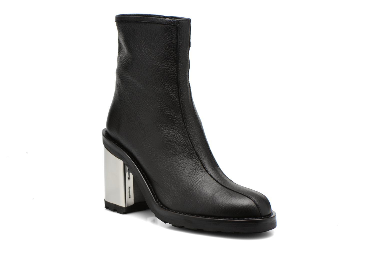 Bottines et boots Opening Ceremony ISA METALLIC HEEL BOOT Noir vue détail/paire