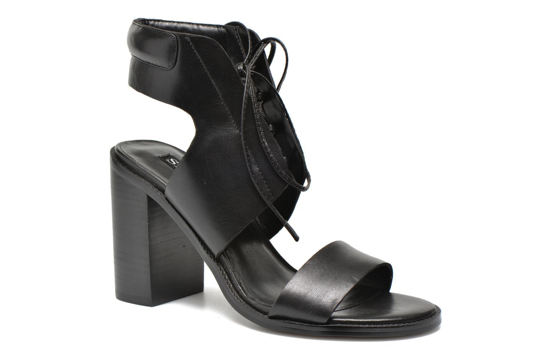 Sandales et nu-pieds SENSO VALLERI VI Noir vue détail/paire