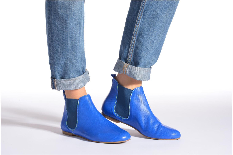 Bottines et boots Ippon Vintage Sun K Bleu vue bas / vue portée sac
