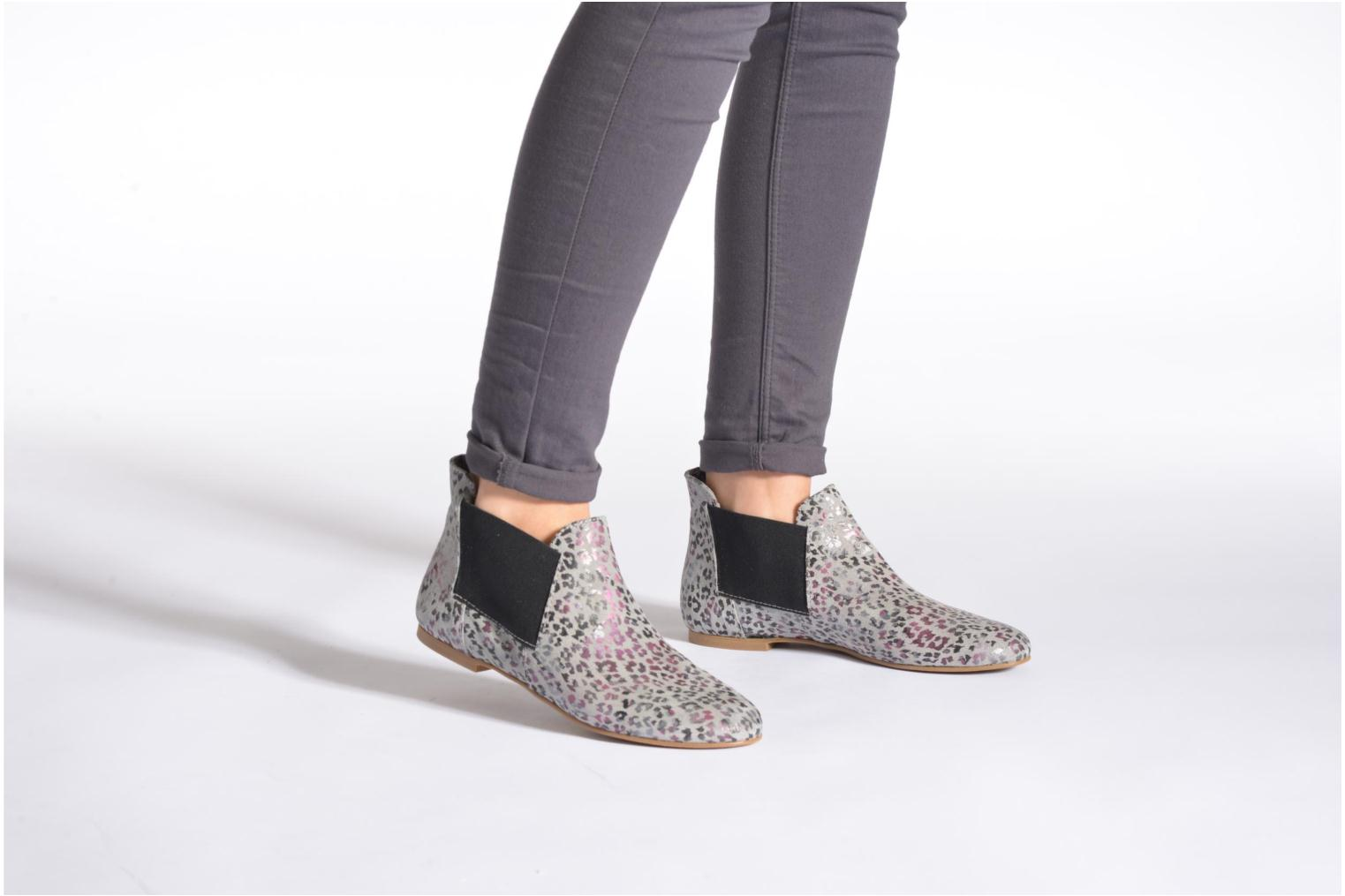 Ankle boots Ippon Vintage Peal south Multicolor view from underneath / model view