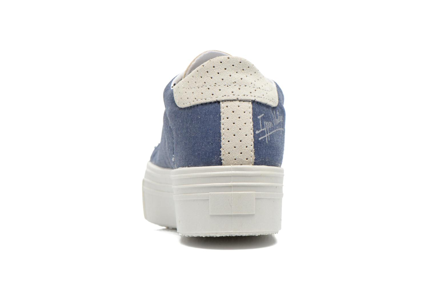 Trainers Ippon Vintage Tokyo jeans Blue view from the right