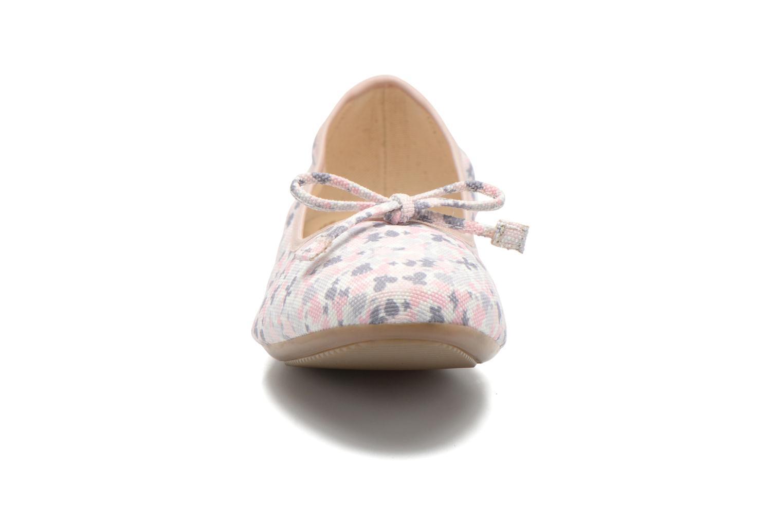Ballerines Georgia Rose Sagga Multicolore vue portées chaussures