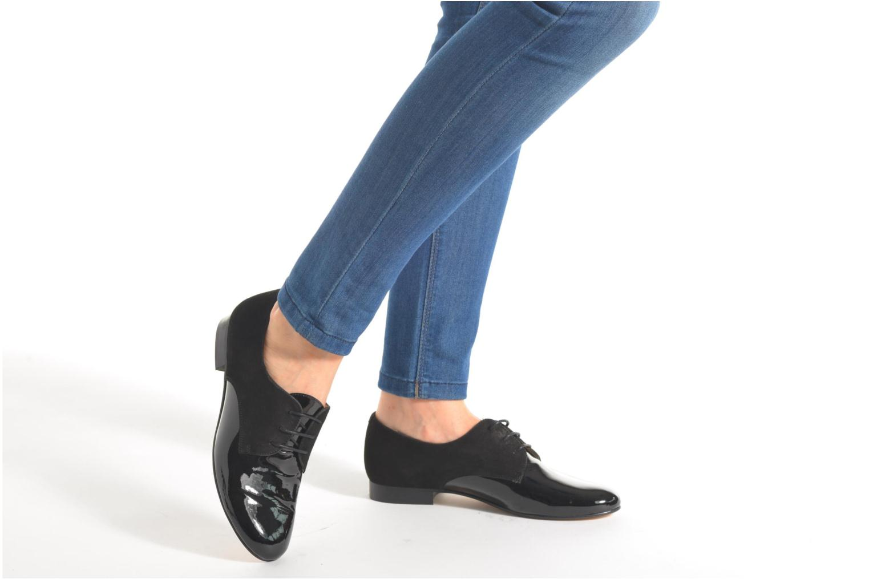 Chaussures à lacets Georgia Rose Volplané Vert vue bas / vue portée sac