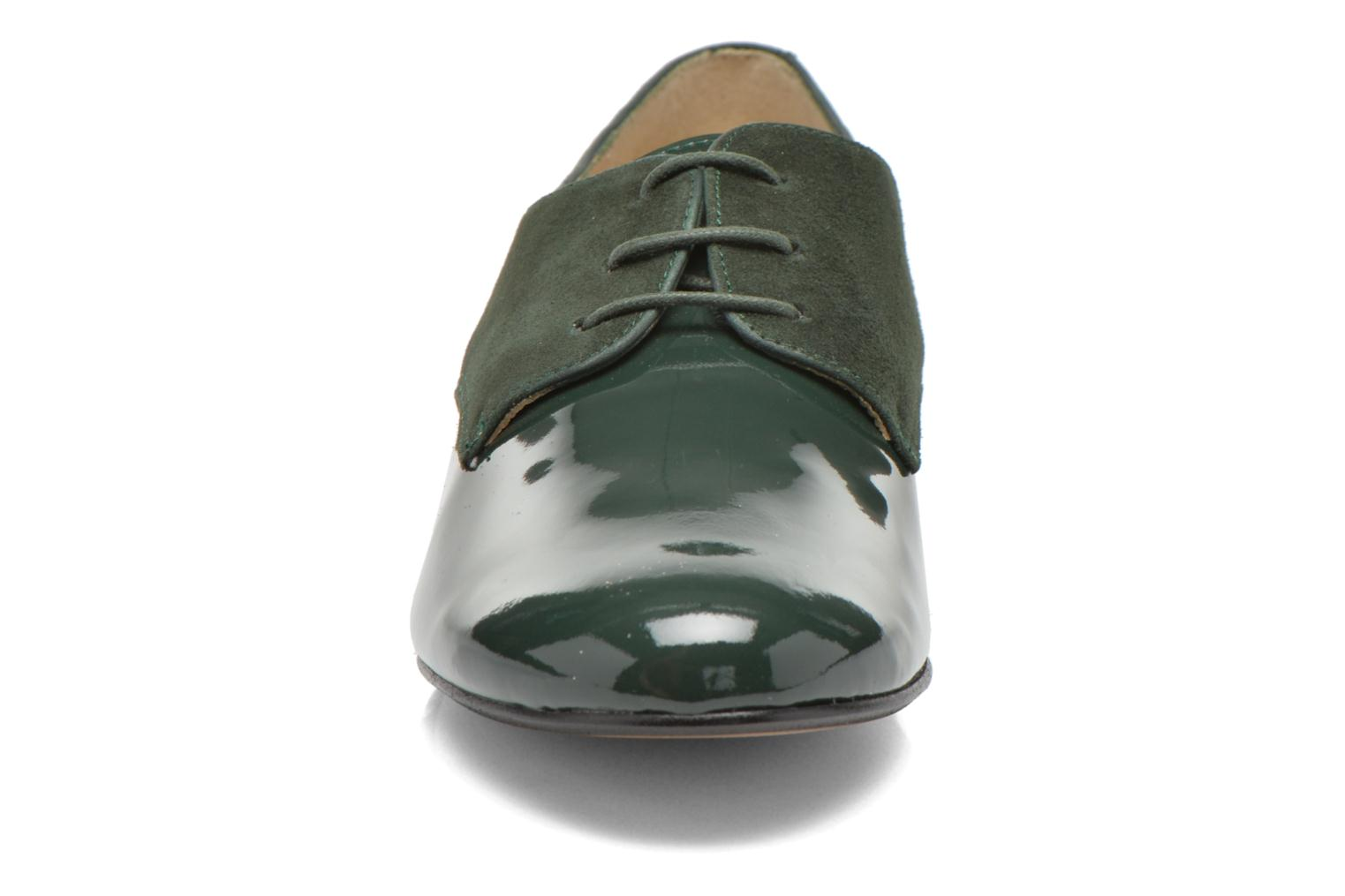 Lace-up shoes Georgia Rose Volplané Green model view