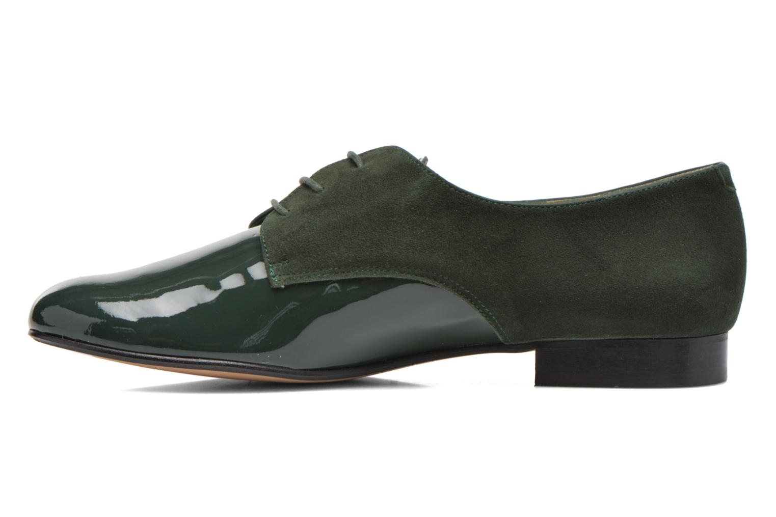 Lace-up shoes Georgia Rose Volplané Green front view