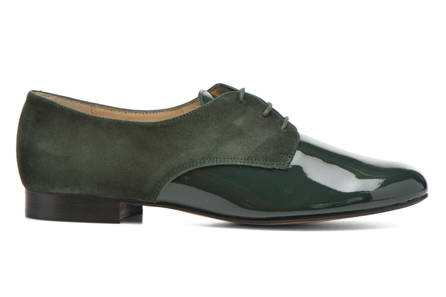 Lace-up shoes Georgia Rose Volplané Green back view