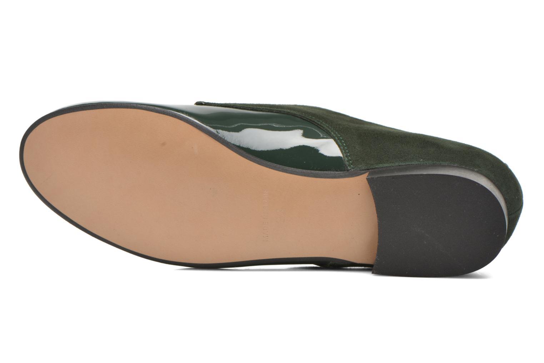 Chaussures à lacets Georgia Rose Volplané Vert vue haut