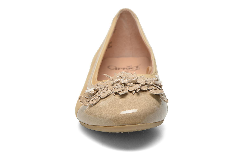 Ballet pumps Caprice Muselo Beige model view