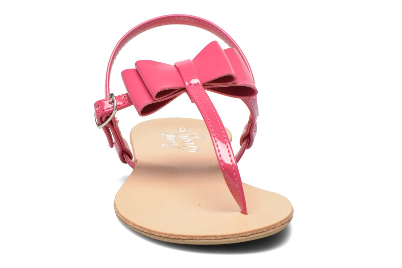 Sandales et nu-pieds I Love Shoes Donoeudou Rose vue portées chaussures