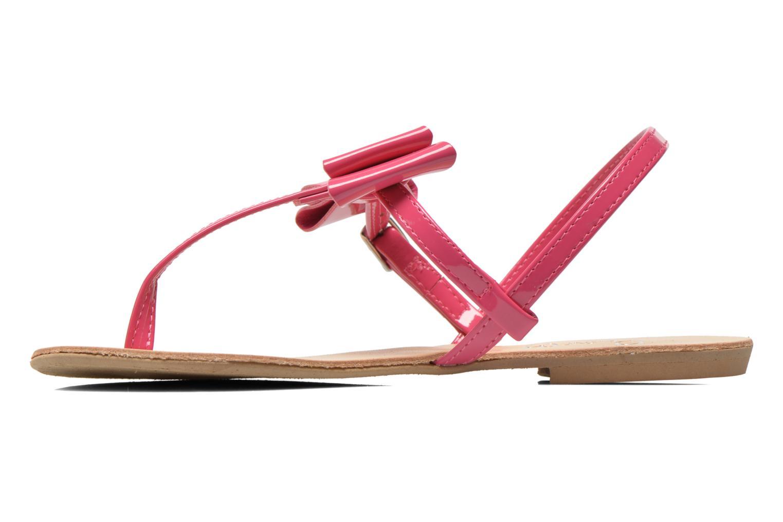 Sandales et nu-pieds I Love Shoes Donoeudou Rose vue face