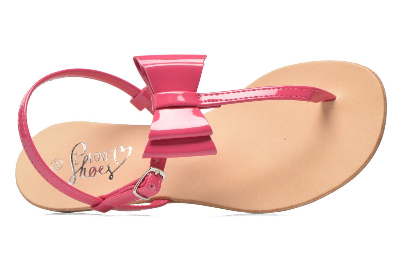 Sandales et nu-pieds I Love Shoes Donoeudou Rose vue gauche