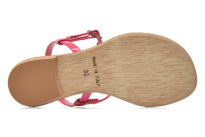 Sandales et nu-pieds I Love Shoes Donoeudou Rose vue haut