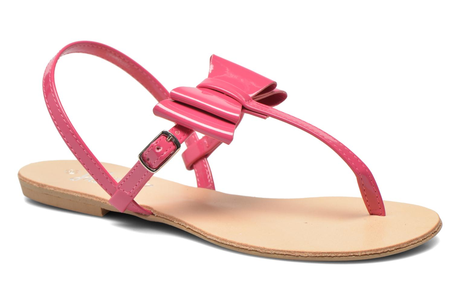Sandals I Love Shoes Donoeudou Pink detailed view/ Pair view