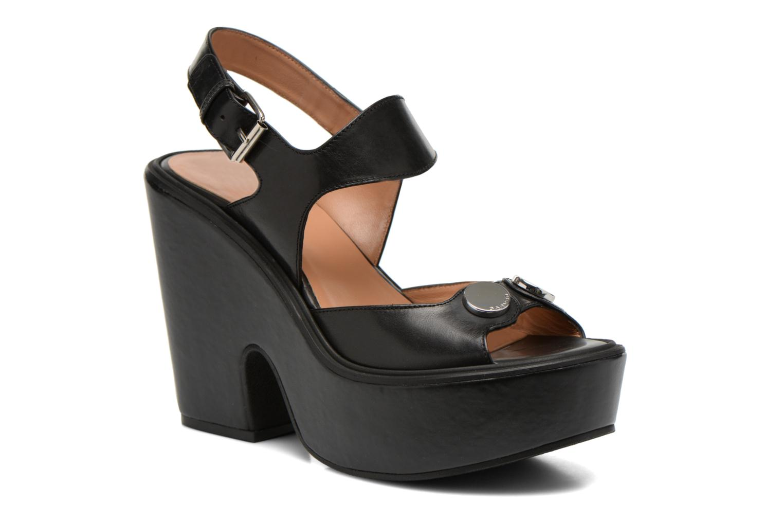 Sandales et nu-pieds Carven Elia Noir vue détail/paire