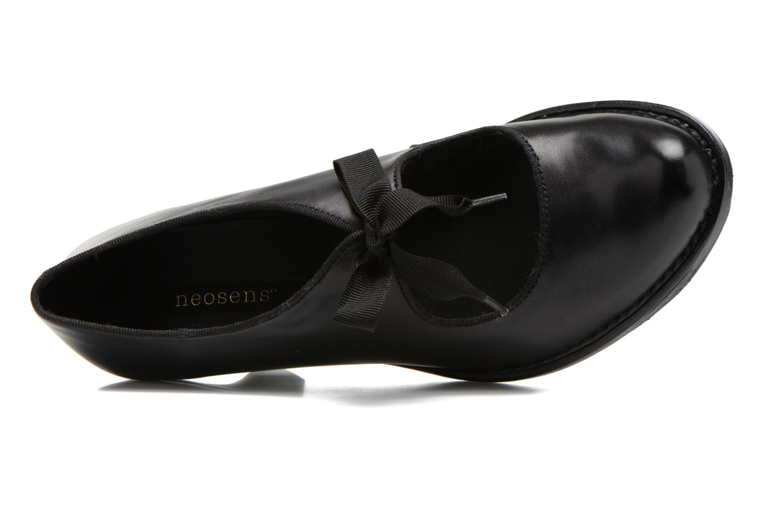 High heels Neosens Rococo S859 Black view from the left