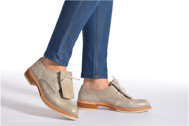 Zapatos con cordones Neosens Hondarribi S895 Beige vista de abajo