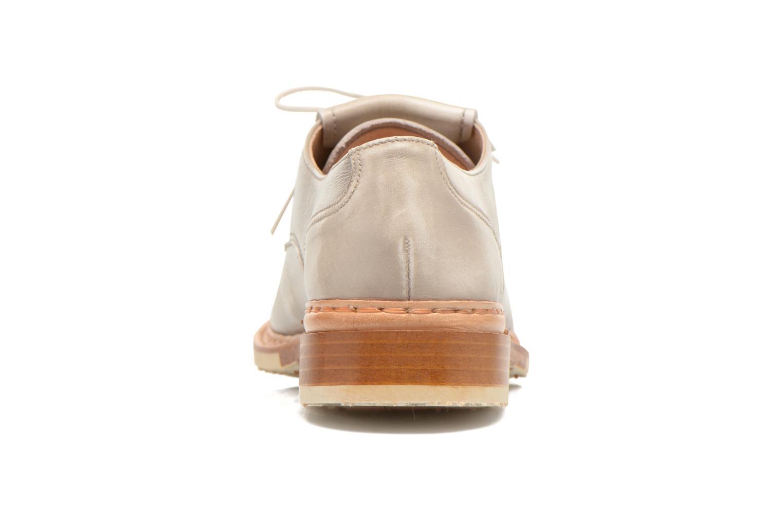 Zapatos con cordones Neosens Hondarribi S895 Beige vista lateral derecha