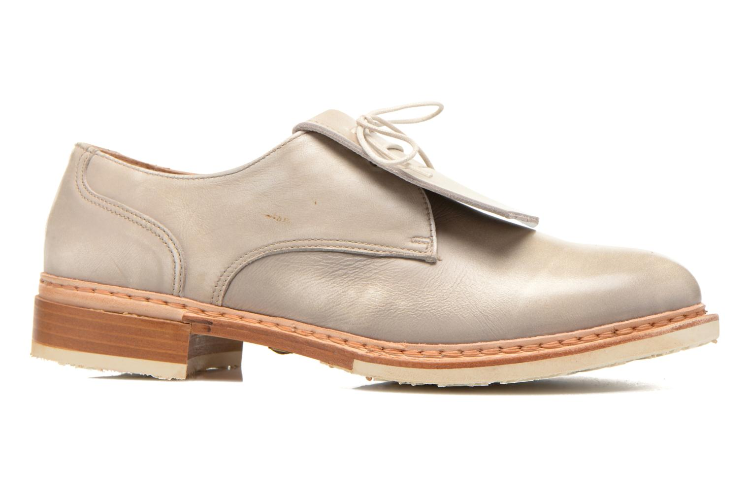 Lace-up shoes Neosens Hondarribi S895 Beige back view