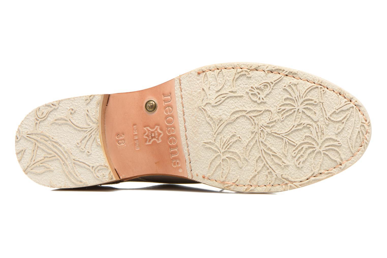 Zapatos con cordones Neosens Hondarribi S895 Beige vista de arriba