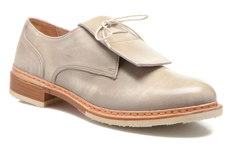 Zapatos con cordones Neosens Hondarribi S895 Beige vista de detalle / par